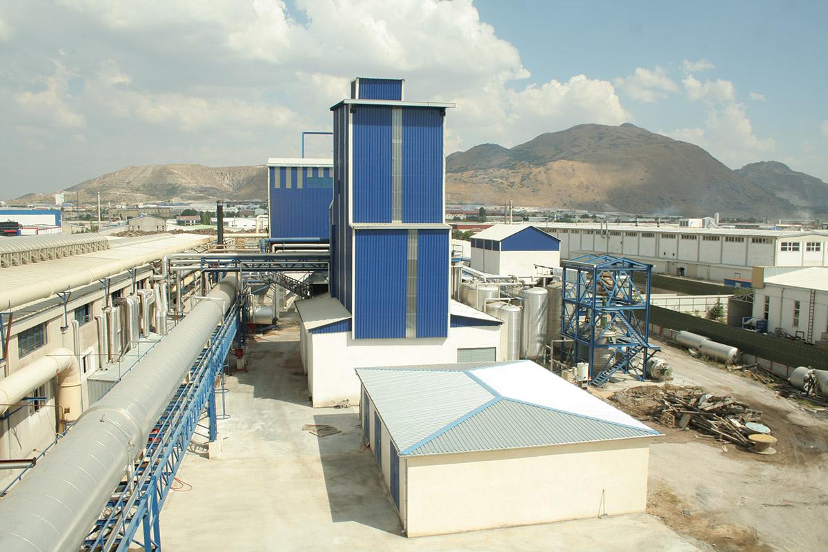 MDF Production Plant Central Anatolia