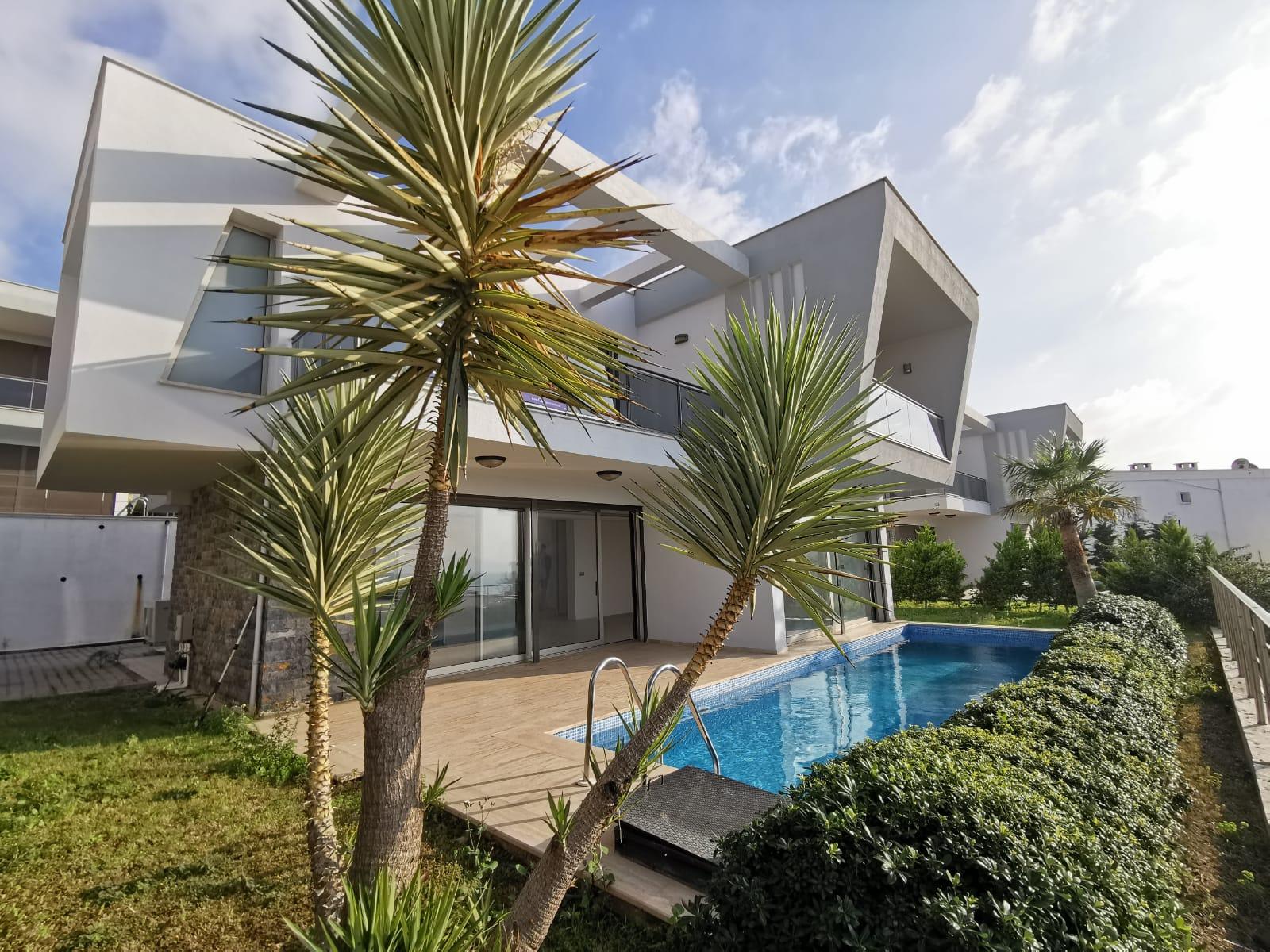 Bodrum Peninsula, 4+1 Luxury Villa with Sea View