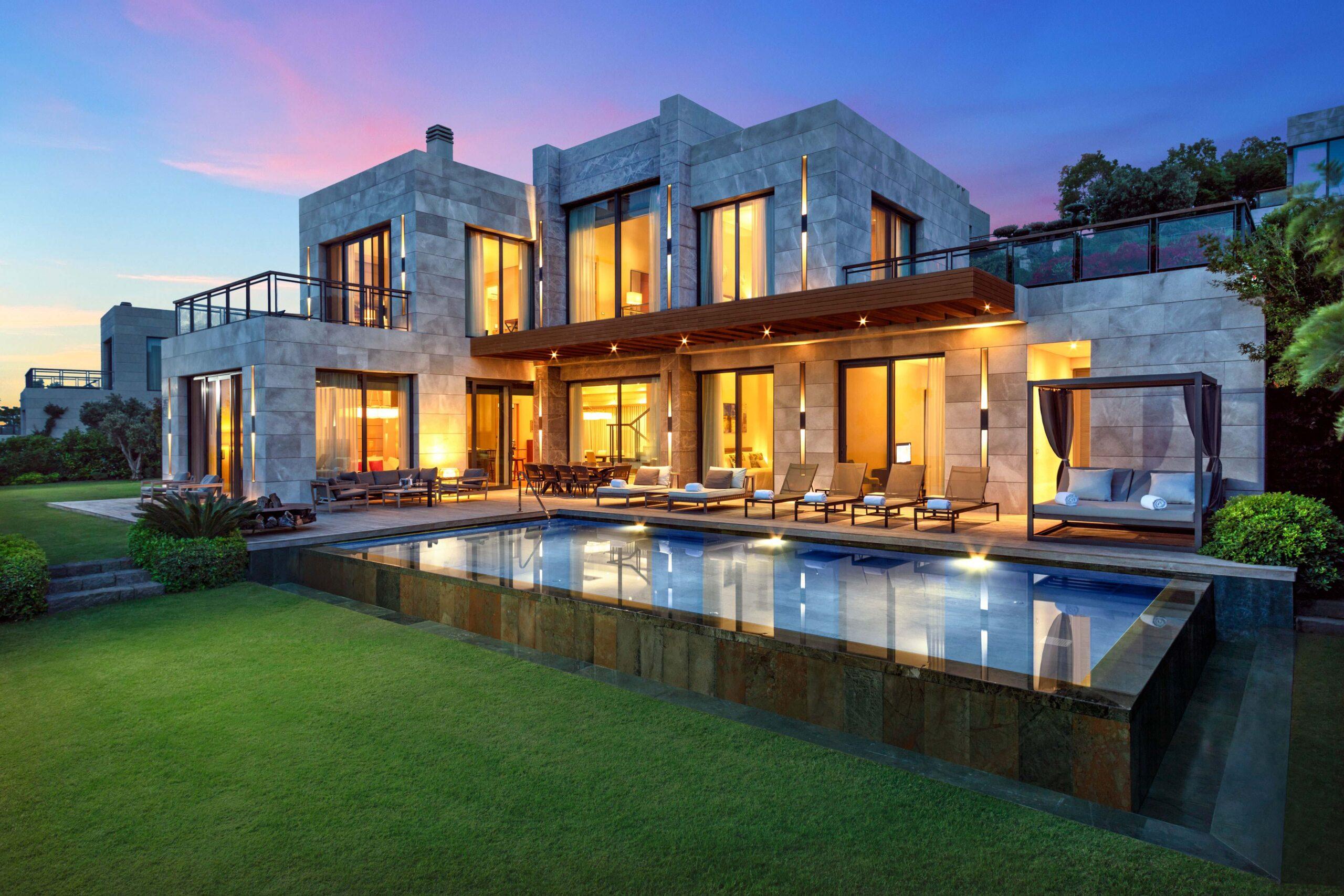 Bodrum Göltürkbükü 5 Bedroom Chic & Luxury Mansion